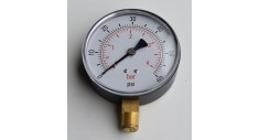 "100mm Dial Plastic case pressure gauge, 3/8"" bsp bottom entry"