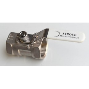 Stainless Steel  '1' piece ball Valve screwed bsp fig 901