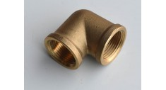 Brass 90 deg elbow f/f BSP