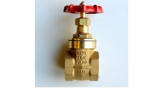 Brass gate valve screwed bsp BS5154