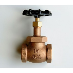Bronze globe valve screwed bsp fig 350