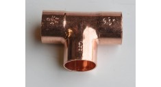 Copper end feed equal tee 611
