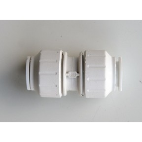 JG Speedfit white push fit coupling