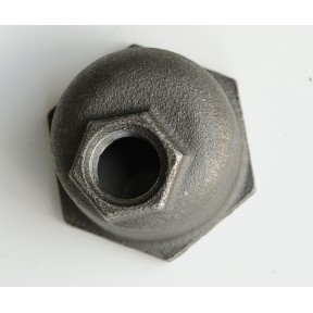 Crane black malleable eccentric reducing socket f/f