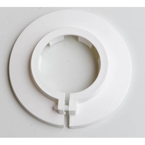 Flamco White Plastic Floor Plate