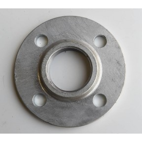 Galvanised screwed bsp flange BS10 table E