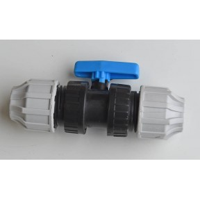 MDPE Compression ball valve