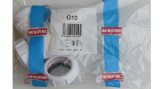 "McAlpine model G10 1.1/2"" bottle trap c/w 38mm seal"