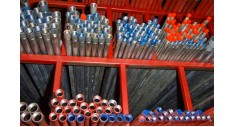 3.25mtr length Galvanised medium steel tube screwed & socketed BS1387/EN10255
