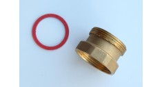 "1.1/2""Brass m&f pump valve adaptor"