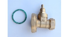 Brass pump gate valve