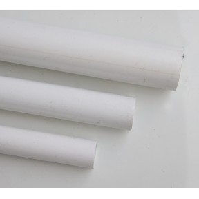 White solvent weld waste pipe x 3mtr long