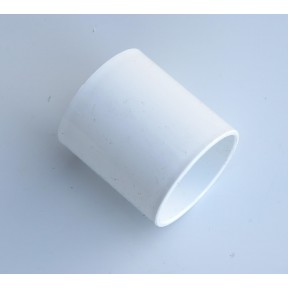 White Solvent weld waste coupling