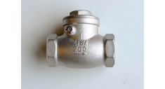 Stainless steel swing check valve screwed bsp fig 965