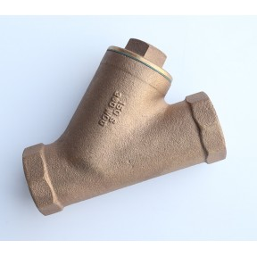 Bronze inline 'Y' strainer bsp female