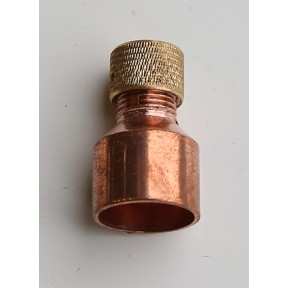 End feed internal air vent cap 15mm