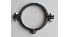 Black single pipe ring metric 401