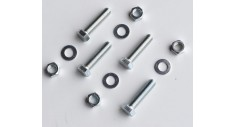 SES Bolt kit No:3 (4 x M16x55 plated set bolt, nut & washer)