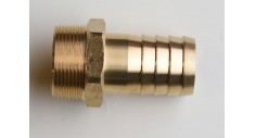 Brass hose connector bsp male