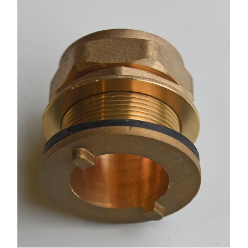 Brass Compression Tank Connector 321
