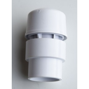 Universal air admittance valve white 32mm,40mm, & 50mm