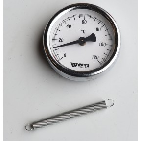 "2.1/2"" Dial Clip-on thermometer 0-120 deg c"