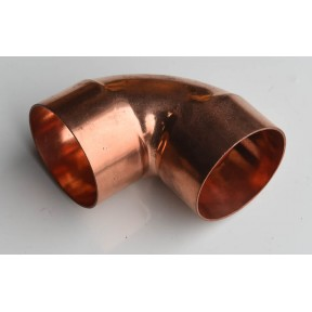 Copper end feed 90 deg elbow LB607