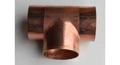 Copper end feed equal tee LB611
