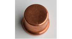 Copper press-fit end cap