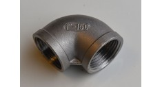 Stainless Steel BSP 90 deg elbow f/f