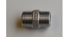 Stainless Steel BSP hexagon nipple